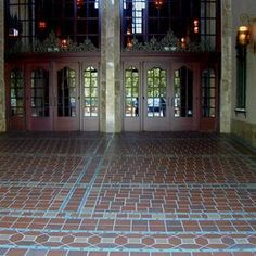 Stonelight Tile - San Jose, CA, United States. Fox Theater entry Restoration by Stonelight Tiles San Jose showroom