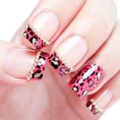 Leopard Print #Pink #Jewels