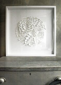 botanical hand crafted wall art by alilia | notonthehighstreet.com