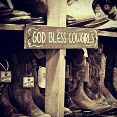 God Bless Cowgirls(;