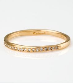 Catbird:Diamond Band  (this would stack nicely with my Petra Class rings)