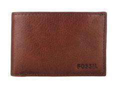 Fossil 'Caleb' Super Slim Bi-Fold Leather Wallet    #menswallets #fossil