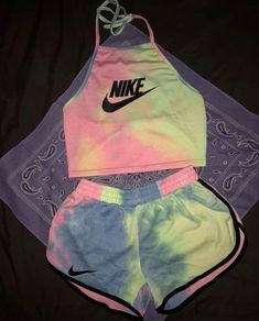 Cute Nike Outfits, Cute Lazy Outfits, Swag Outfits For Girls, Girls Fashion Clothes, Couple Outfits, Sporty Outfits, Teen Fashion Outfits, Teenager Outfits, Trendy Outfits