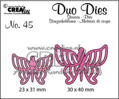 Duo Dies no. 45 Vlinders 7 / Butterflies 7
