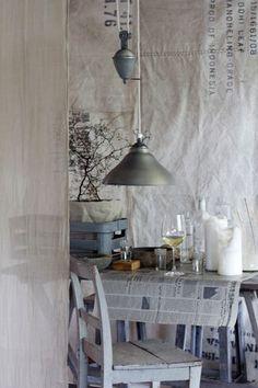 Les panneaux de tissu ♡ linen