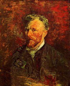 Автопортреты Ван Гога.Autoportraits Van Gogh