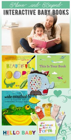 15 Interactive Books Babies Just Love Toddler Books, Baby Books, Learning Resources, Book Activities, Coding For Kids, Baby Smiles, Thematic Units, Reading Rainbow, Baby List
