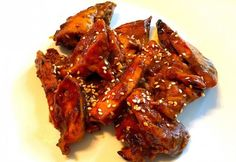 Tandoori Chicken, Chicken Wings, Bacon, Meat, Ethnic Recipes, Food, Essen, Meals, Yemek