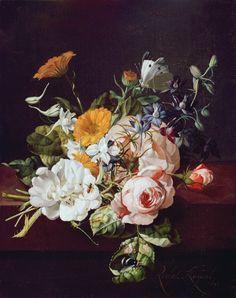 Vase of Flowers, 1695 Rachel Ruysch