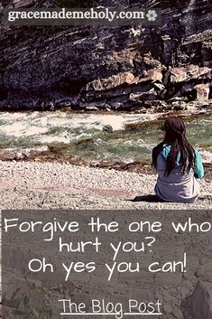 Forgiving is tough if not impossible when we try to do it in our own strength. Only God's Spirit in us can bring true forgiveness. Trust Quotes, Faith Quotes, Bible Quotes, Bible Verses, Christian Living, Christian Faith, God Help Me, Inspirational Quotes For Women, Women Of Faith