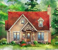 Plan 26673gg Itty Bitty Cottage House Plan In 2019