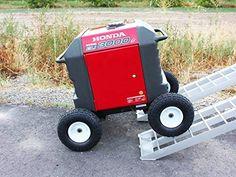All-terrain Wheel Kit for Honda EU Never lift your generator again! Versatile All-Terrain wheel kit designed to handle almost. Camping Generator, Honda Generator, Diy Generator, Inverter Generator, Generators, Cargo Trailer Camper, Cargo Trailers, Utility Trailer, Camper Van