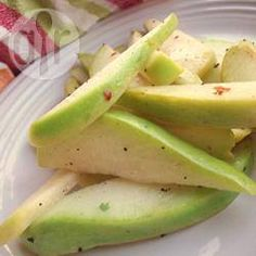 Ensalada tibia de chayote @ allrecipes.com.mx