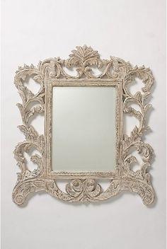 funky vintage anthropologie frame funky frame vintage baroque ivory