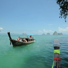 1-Day Private Longtail Boat Trip to 4 Islands in Krabi