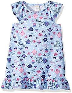 Gymboree Little Girls Nightgown Purple. * Want additional info? Click on the image. (This is an affiliate link) #Nightgowns