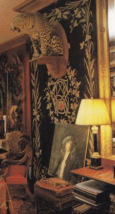 John Richardson-New York Brownstone-The Englishman's Room-Derry Moore