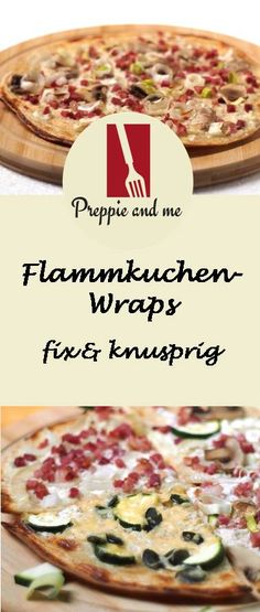 Flammkuchen-Wraps,Wraps, Flammkuchen, Preppie-and-me, Krups Prep & Cook pies pies recipes aux pommes salees soleil Party Finger Foods, Snacks Für Party, Prep & Cook, Meal Prep, Krups Prep&cook, Grill Party, Cooked Apples, Wrap Sandwiches, Prepping