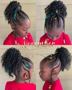 Boho Large Feed In Tribal Ponytail! Booking Link In Bio. Little Girls Natural Hairstyles, Black Kids Hairstyles, Baby Girl Hairstyles, Kids Braided Hairstyles, Little Girl Braids, Black Girl Braids, Braids For Kids, Girls Braids, Braid Styles For Girls