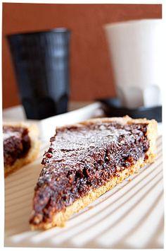 Crostata al cioccolato, noci e miele