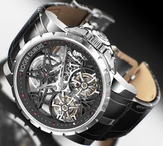 Roger Dubuis Excalibur Skeleton Double Tourbillon