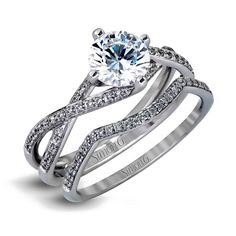 Simon G MR1394 18k White Gold Engagement Ring Set Find this Simon G 18k white gold engagement ring set at Diamonds By Raymond Lee in Boca Raton — Palm Beach County's destination for eng…