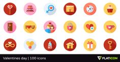 100 free vector icons of Valentines day designed by Freepik