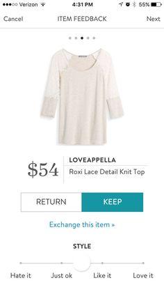 Stitch Fix: I should wear more white. This is really pretty!   https://www.stitchfix.com/referral/4802007