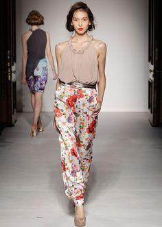 S/S 13 - Jersey, Drape, Floral. Online Boutique | Ashley Isham
