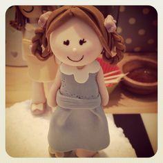 Little fondant girl