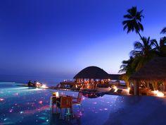 Romantic escape in the Maldives