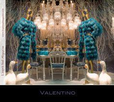 paris window displays   Christmas window display - Valentino - Le Printemps Haussmann (Paris ...