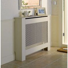 Standard MDF Radiator Cabinet - Unfinished - 81.5x110cm from Homebase.co.uk
