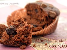 Briose delicioase cu ciocolata, Rețetă de AndreKitchen - Petitchef