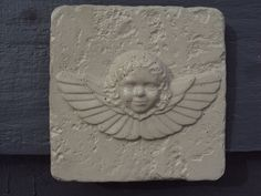 Angel Stone Statuary by MountainArtCasting on Etsy