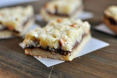 Nutella butterscotch crumble bars - does anything even more even need to be said? They are rich and delicious and worth making.