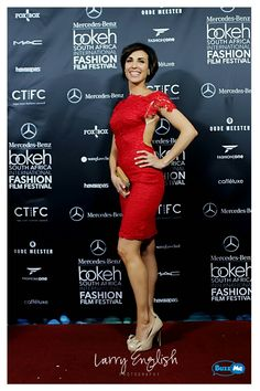 Red carpet  Red dress  Bokeh Fashion Film Festival Festival Fashion, Film Festival, International Fashion, Bokeh, Cape Town, Red Carpet, Photoshoot, Formal Dresses, Beautiful