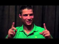OLÁ YouTube!   Cristiano Ronaldo
