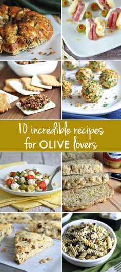 10 Incredible Recipes for Olive Lovers!