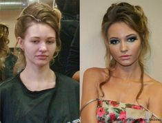 with make up