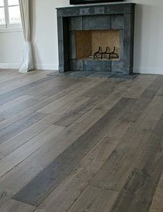 Our custom Aged French Oak floors are extremely popular with interior designers. The unique aging process renders stunning results with the look and patina of genuine antique French oak floors. <---yum!