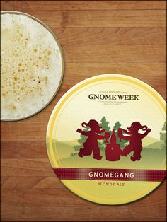 Belgian Brewery Aurasma app: Chouffe Little Gnome Blonde Ale, Gnomes, Brewery, Hummus, App, Ethnic Recipes, Food, Homemade Hummus, Apps