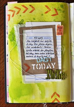 project art today: smash book