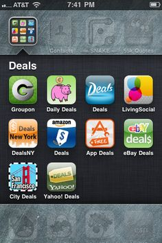 Daily Deals Apps for iPhone - Save Money on Local Specials