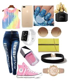 """""""Untitled #6"""" by queen406 ❤ liked on Polyvore featuring Converse, Victoria Beckham, Apple, GUiSHEM, Marc Jacobs, Dorothy Perkins and Michael Kors"""