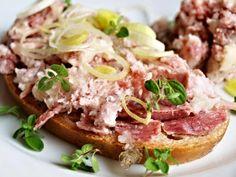 Zajímavé! Pesto, Salmon Burgers, Preserves, Potato Salad, Sandwiches, Recipies, Cooking Recipes, Beef, Canning
