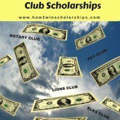 College Scholarship Tip: Don't Overlook Club Scholarships