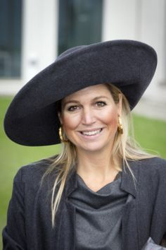 Queen Máxima, Oct. 16, 2013 in Fabienne Delvigne | The Royal Hats Blog