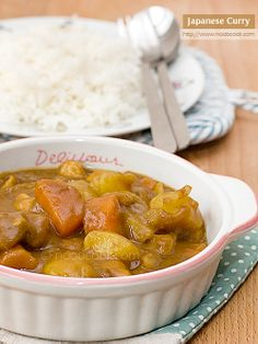 Japanese Curry- NOT a recipe, but more of a reminder that this is a SUPER easy meal to make with minimal ingredients.  Made this the other night, and it was delish.