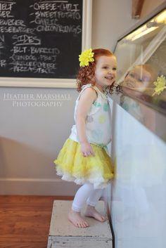 Child photography ideas | ice cream birthday | girls ice cream theme birthday | heather Marshall photography